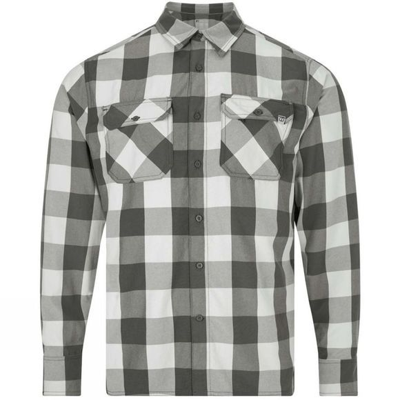 Berghaus Mens Explorer LS Shirt 3.0 Grey Summer Buffalo Check