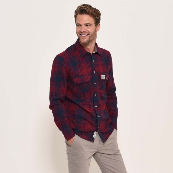 Brakeburn Flannel check shirt Red
