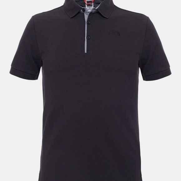 The North Face Mens Premium Polo Piquet TNF Black / TNF Black