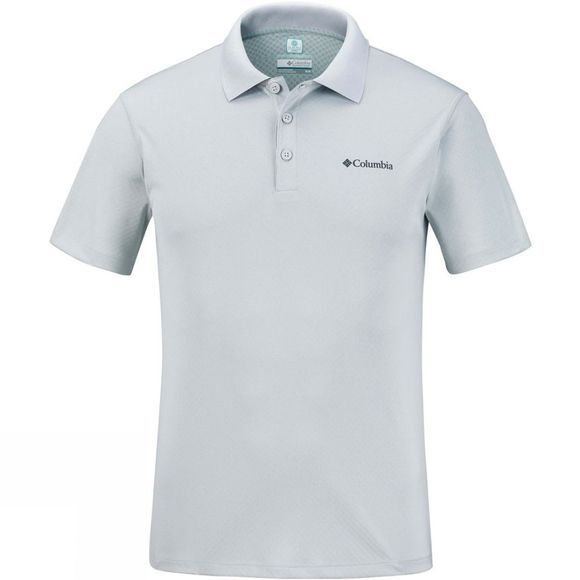 Columbia Men's Zero Rules Polo Cool Grey