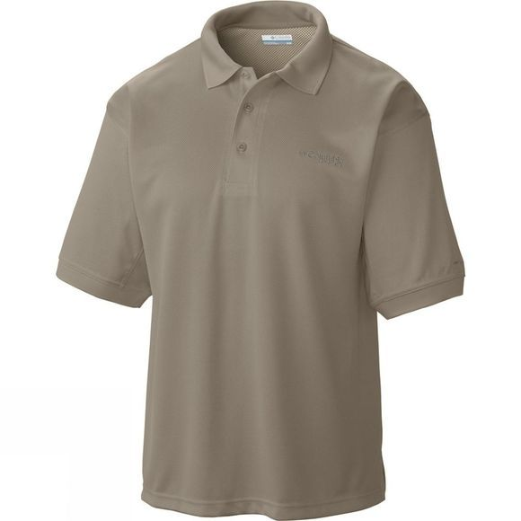 Columbia Mens Perfect Cast Polo Shirt Sage