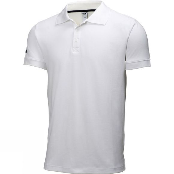 Helly Hansen Mens Crewline Polo White