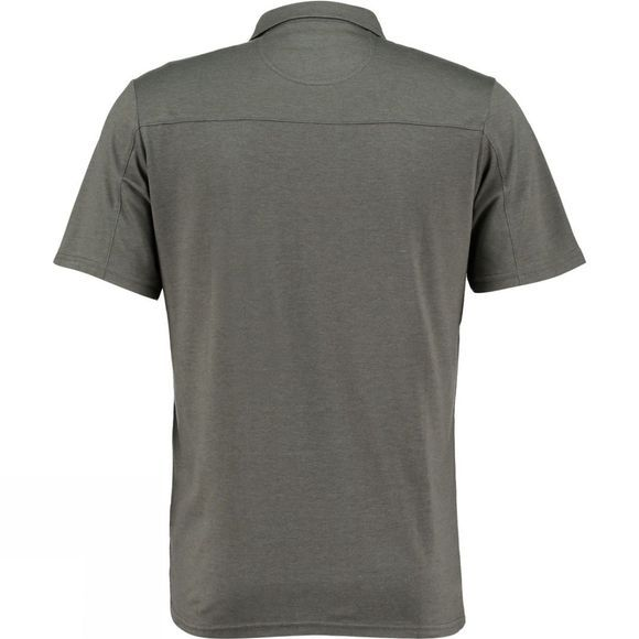 Ayacucho Mens Pacer Polo Top Beluga