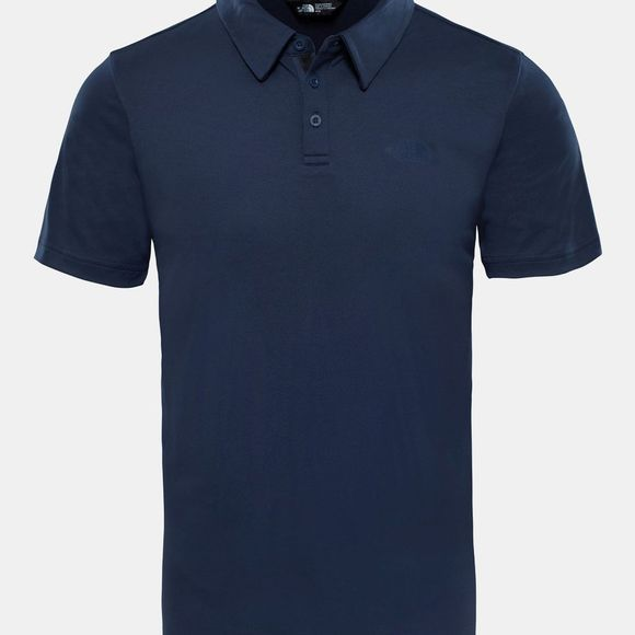 The North Face Mens Tanken Polo Shirt Urban Navy