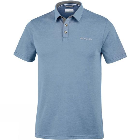 Columbia Mens Nelson Point Polo Mountain