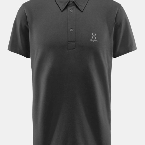 Haglofs Mens Mirth Polo True Black