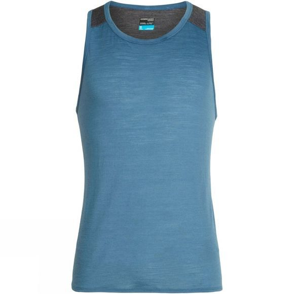 Icebreaker Mens Amplify Tank Thunder / Panther Heather