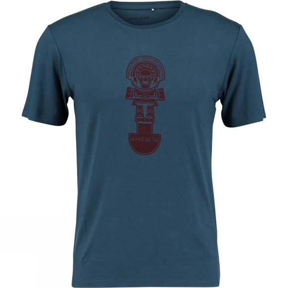 Ayacucho Mens Tumi T-Shirt Navy/Red