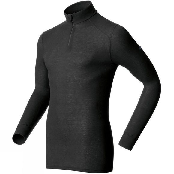 Odlo Mens Original Warm 1/2 Zip Black
