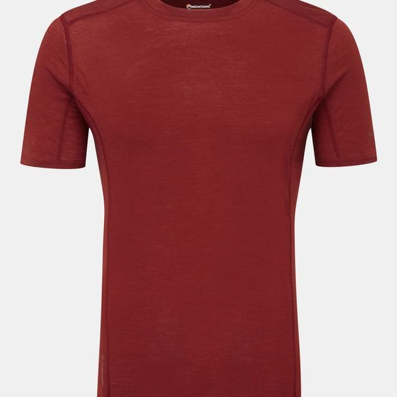 Montane Mens Primino 140 T-Shirt Redwood