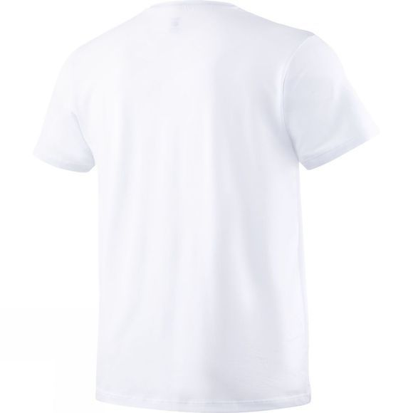 Saxx Mens 3Six Five Short Sleeve Crew Neck T-Shirt White