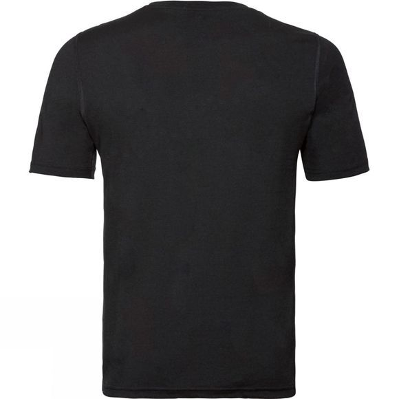 Odlo Natural 100% Merino Wool Base Later T-Shirt Black - Black