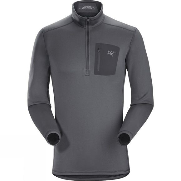 Arc'teryx Mens Rho AR Zip Neck Pilot