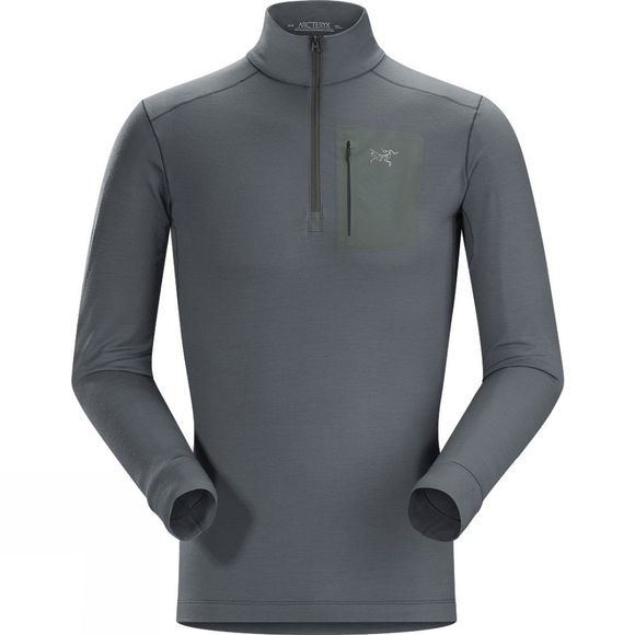 Mens Satoro AR Long Sleeve Zip Neck