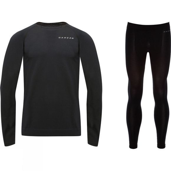 Dare 2 b Mens In Mode Base Layer Set Black