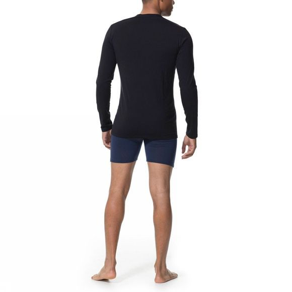 Mens Anatomica Long Sleeve Crewe