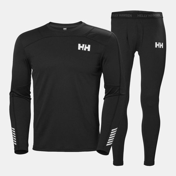 Helly Hansen Mens HH Lifa Active Set Black