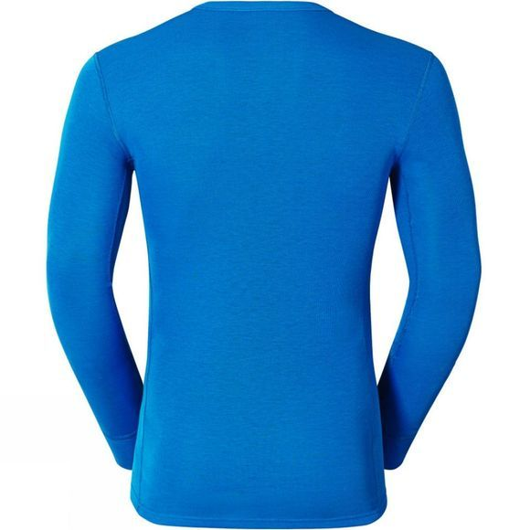Odlo Mens Original Warm Long-Sleeve Top Directoire Blue