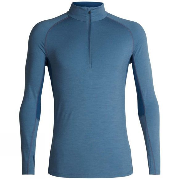 Mens 200 Zone LS Half Zip Top
