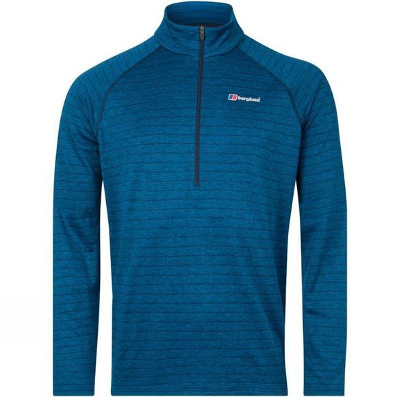 Berghaus Mens Thermal Tech T-Shirt Dusk/Deep Water
