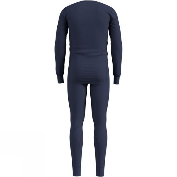Odlo Mens Active Warm Base Layer Set Diving Navy