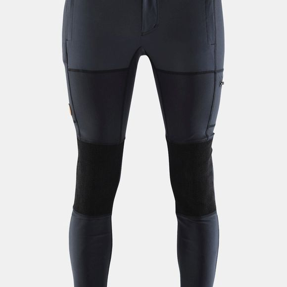 Fjallraven Mens Abisko Trekking Tights Navy