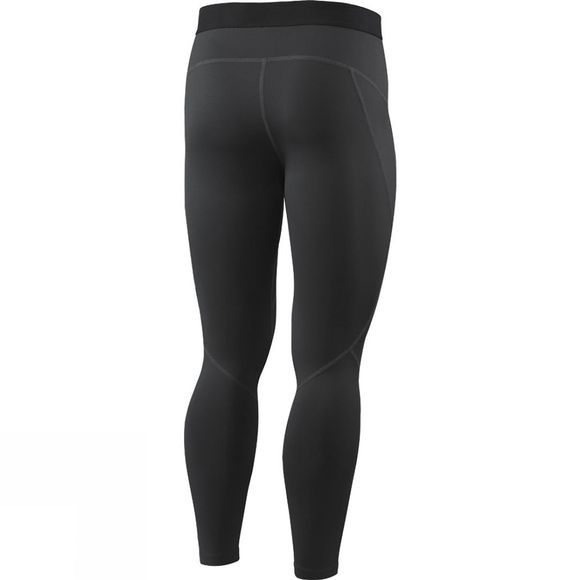 Saxx Mens Thermo-Flyte Tights with Fly Black