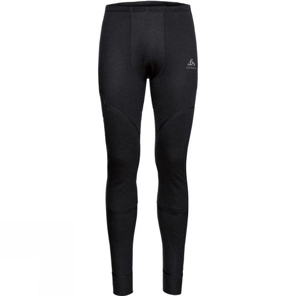 Odlo Mens Active X-Warm Base Layer Pants Black