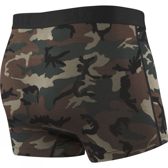 Saxx Mens Vibe Trunk Modern Fit Boxers Woodland Camo
