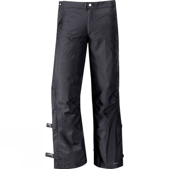 Vaude Mens Yaras Rain Zip Pants Black