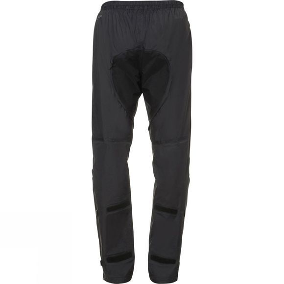 Vaude Mens Yaras Rain Pants Black