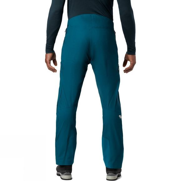 Mountain Hardwear Mens Exposure 2 Gore-Tex Active Pants Dive