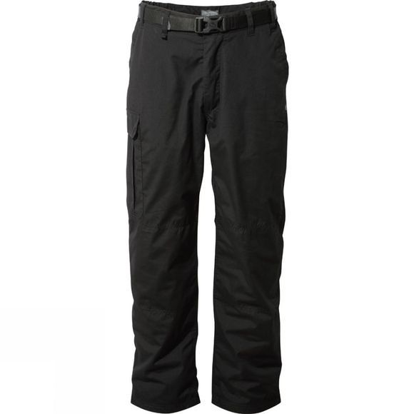 Craghoppers Mens Kiwi Winter Lined Trousers Black