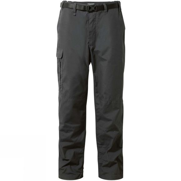 Craghoppers Mens Kiwi Winter Lined Trousers Black Pepper