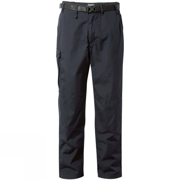 Craghoppers Mens Kiwi Winter Lined Trousers Dark Navy