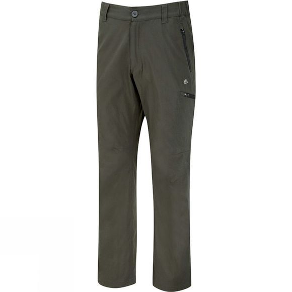 Craghoppers Mens Kiwi Pro Stretch Trousers Dark Khaki