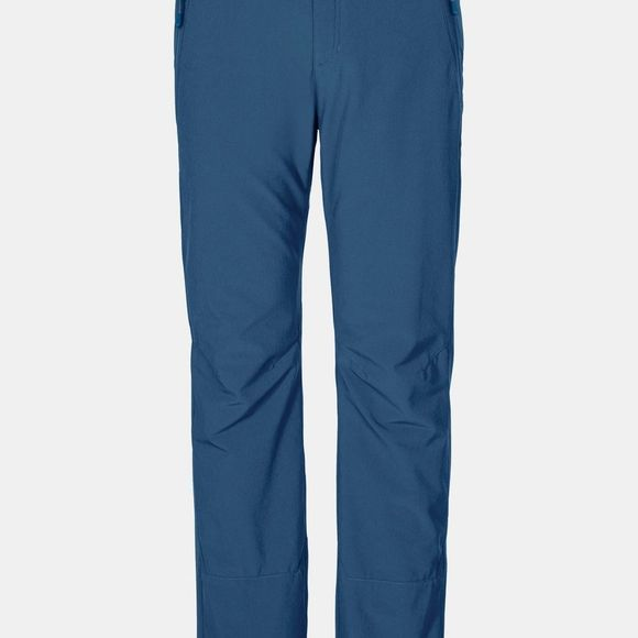 Jack Wolfskin Mens Activate Winter Pants Indigo Blue