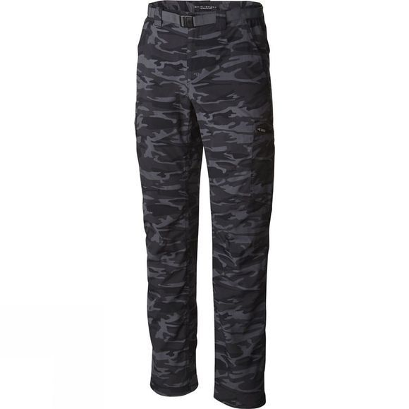 Mens Silver Ridge Printed Cargo Pants