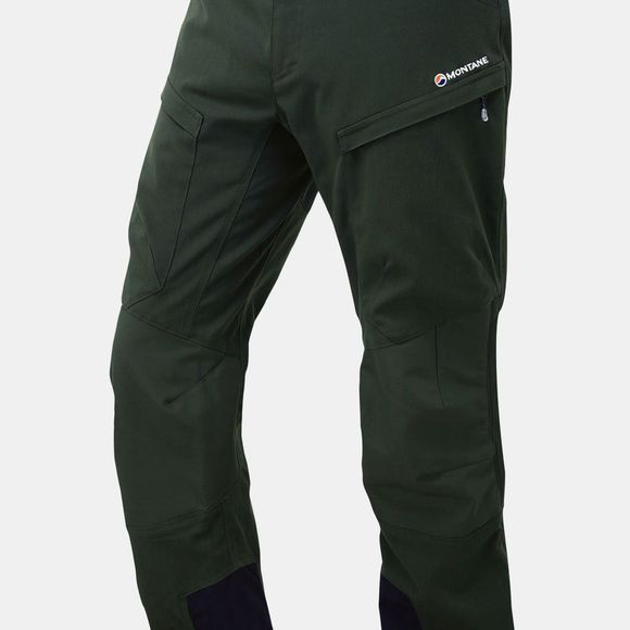 Montane Mens Super Terra Pants Oak Green/Ivy