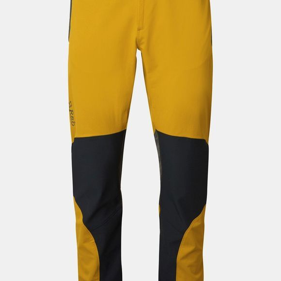 Rab Men's Torque Pants Dark Sulphur