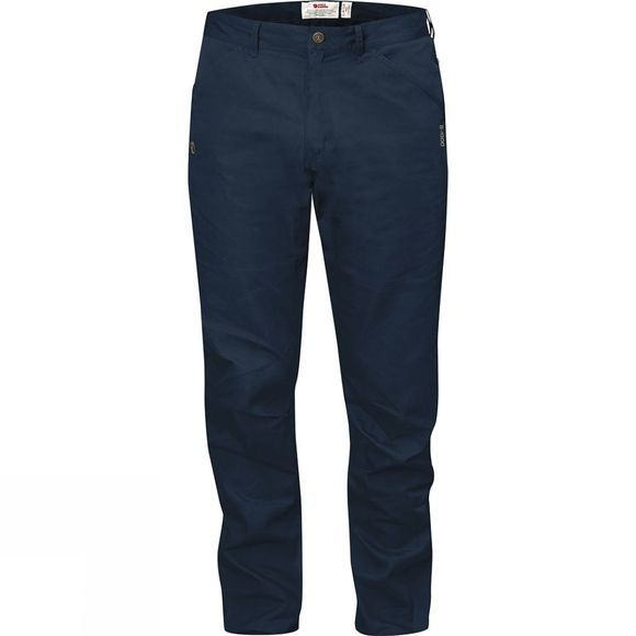 Fjallraven Mens High Coast Trousers Navy