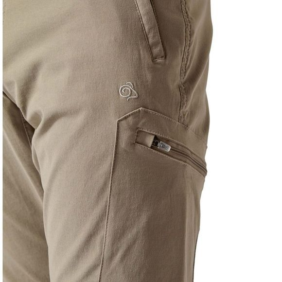 Craghoppers Mens NosiLife Pro Trousers Pebble