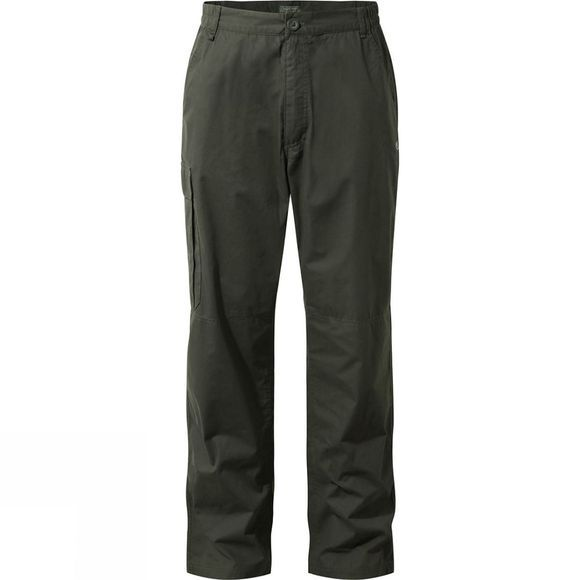 Craghoppers Mens C65 Winter Trousers Dark Khaki