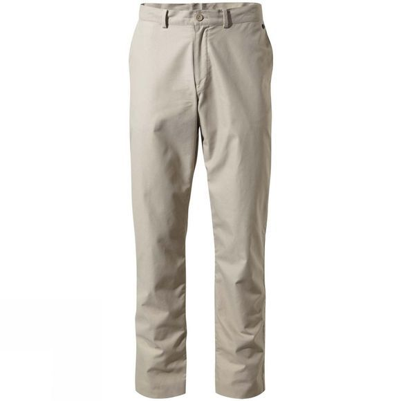 Craghoppers Mens NosiLife Lincoln Trousers Soft Taupe