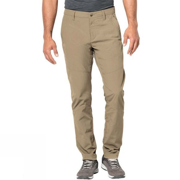 Jack Wolfskin Mens Desert Valley Pants Sand Dune