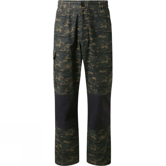 Mens DA Camo Cargo Trousers