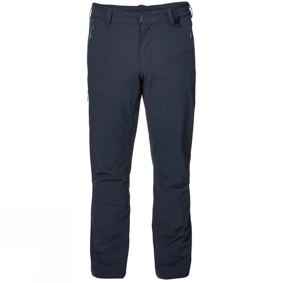 Jack Wolfskin Mens Activate XT Trousers Night Blue