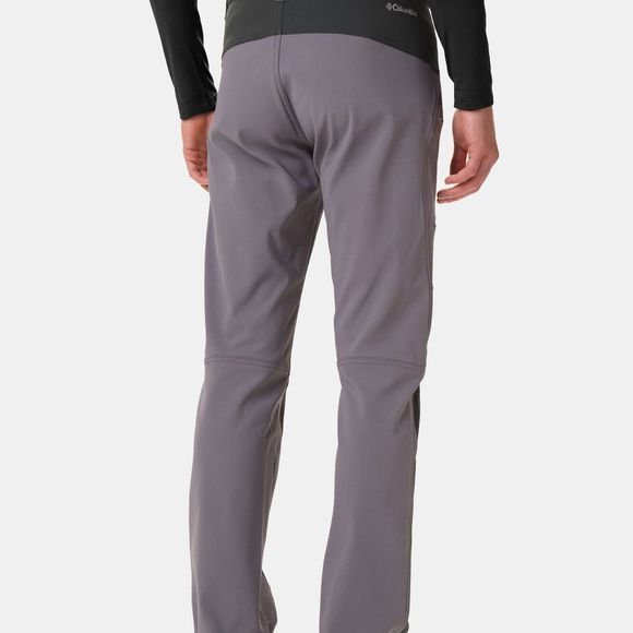 Columbia Mens Triple Canyon Fall Hiking Pant City Grey/ Shark