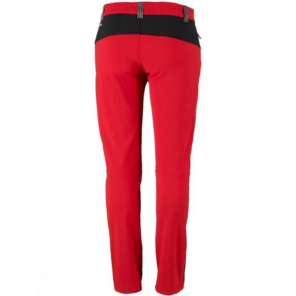 Columbia Mens Triple Canyon Fall Hiking Pant Red Spark/ Black