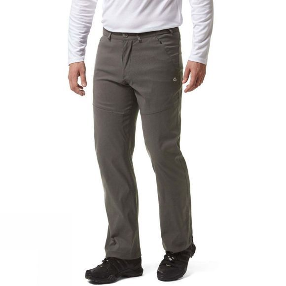Craghoppers Mens Kiwi Pro II Trousers Dark Lead